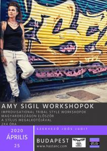 Amy Sigil in Budapest !